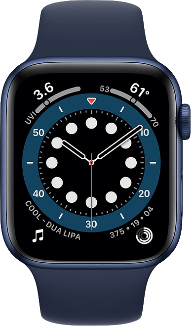 Dark marine Apple Watch Series 6 GPS + Cellular , 40mm.2