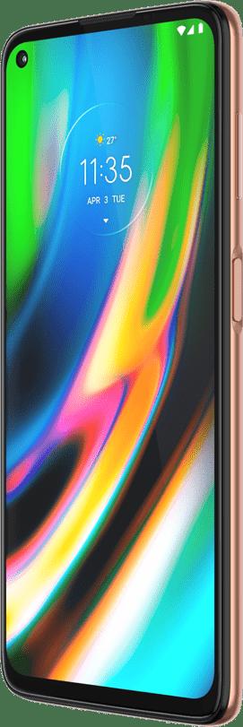 Rose Gold Motorola Moto G9 Plus 128GB.1