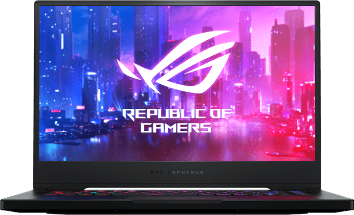 Schwarz Asus ROG Zephyrus M - Gaming Notebook - Intel® Core™ i7-10750H - 16GB - 1TB SSD - NVIDIA® GeForce® RTX™ 2070 (8GB).1
