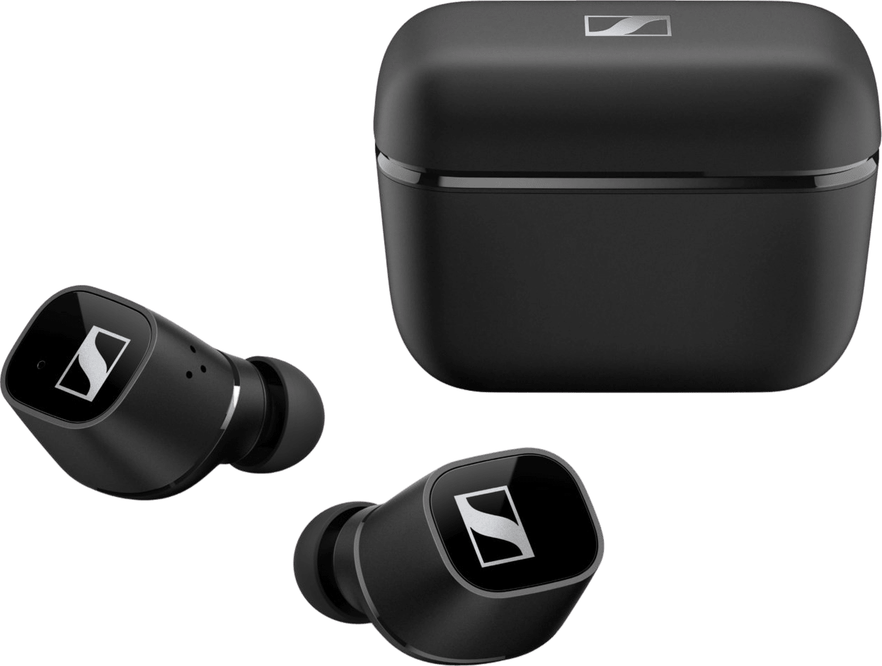 Black Sennheiser CX 400BT Noise-cancelling In-ear Bluetooth Headphones.1