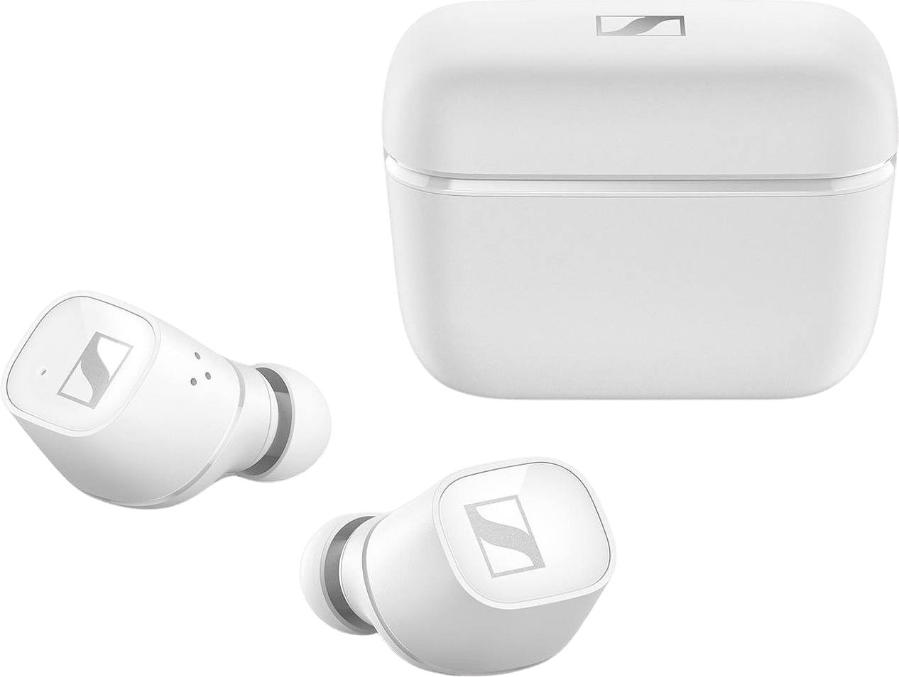 Weiß Sennheiser CX 400BT Noise-cancelling In-ear Bluetooth-Kopfhörer.1
