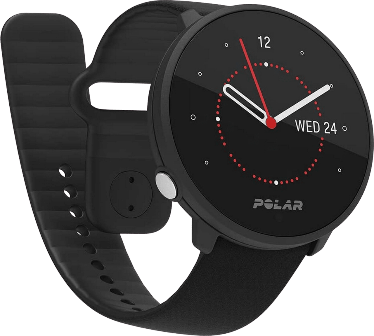 Schwarz Polar Unite GPS-Sportuhr.1