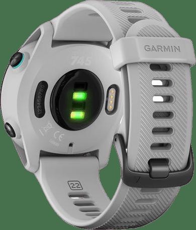 Wit-grijs Garmin Forerunner 745 GPS Sports watch.4