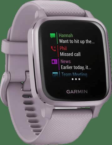 Morado Garmin Venu Sq GPS Sports watch.2