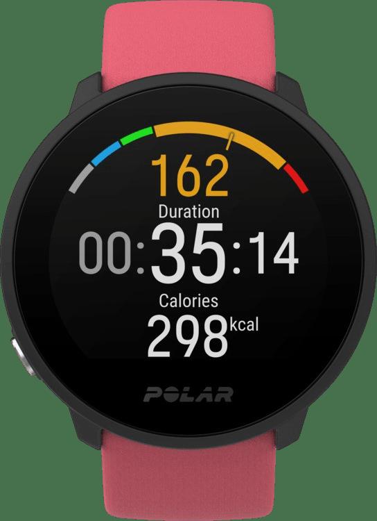 Pink Polar Unite GPS Sports watch.2
