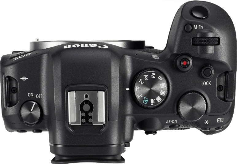Black Canon EOS R6 Body.4