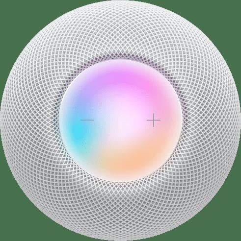 Weiß Apple HomePod mini.2