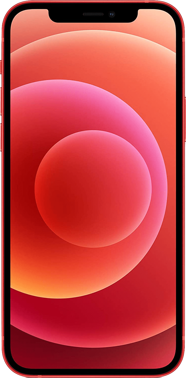 (Product)Red Apple iPhone 12 128GB.4