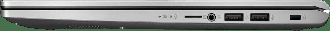 Transparent Silver Asus Laptop 15.4