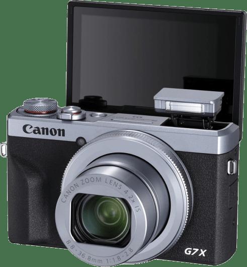 Silber Canon PowerShot G7X Mark III.4