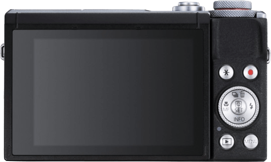 Silber Canon PowerShot G7X Mark III.2