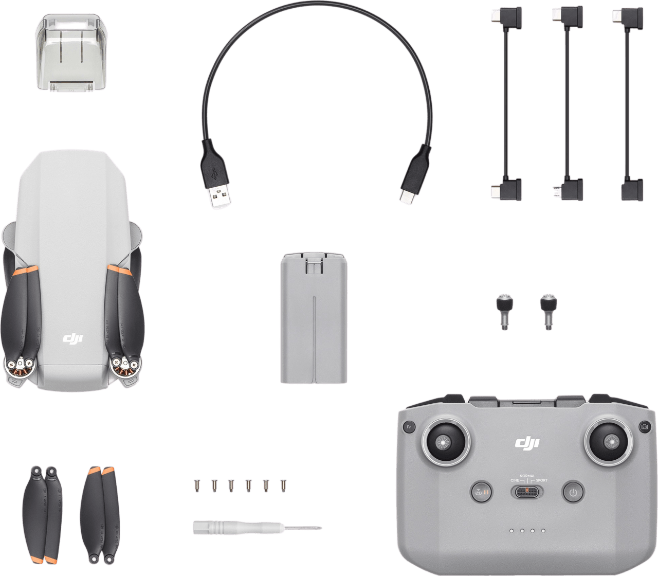 Light Grey DJI Mini 2.3