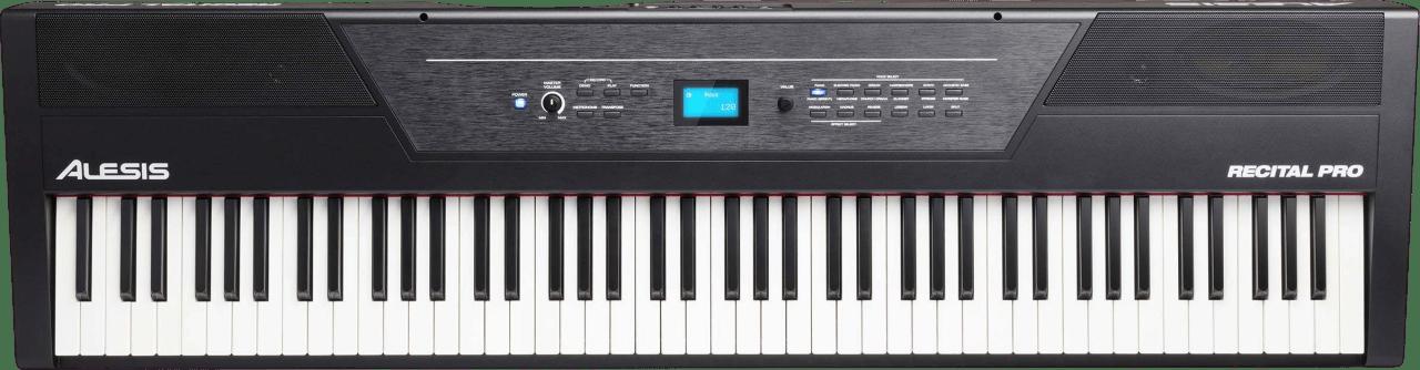 Black Alesis Recital Pro Digital Piano.2