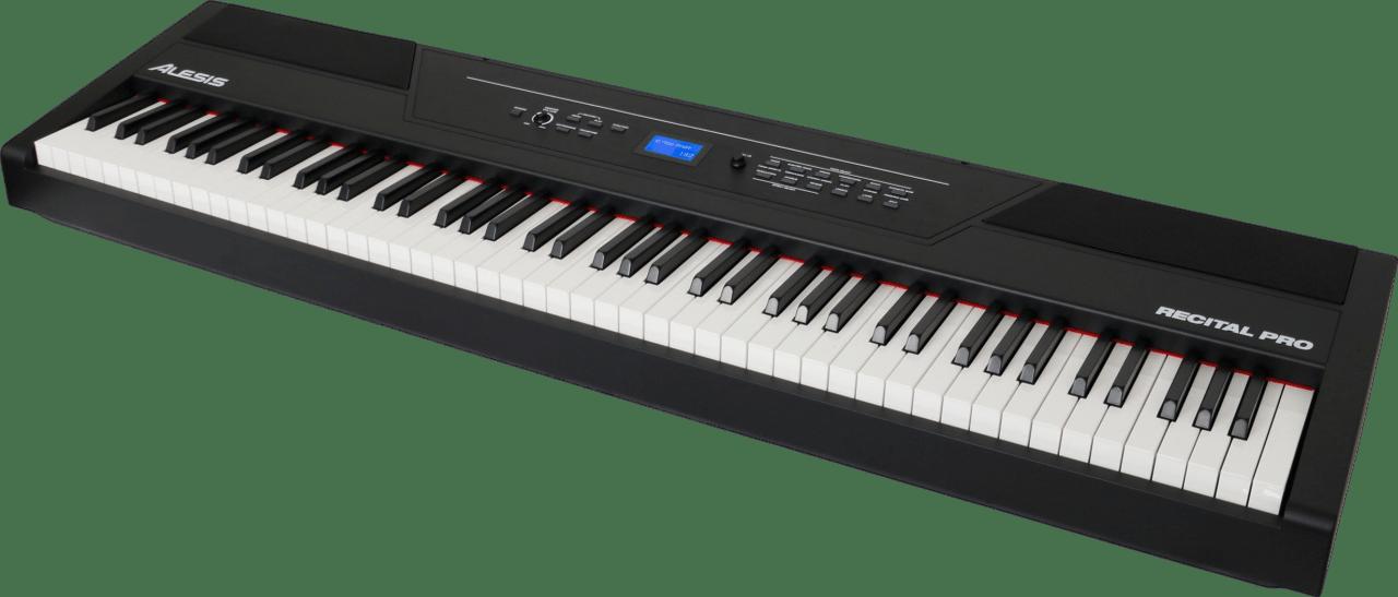 Black Alesis Recital Pro Digital Piano.3