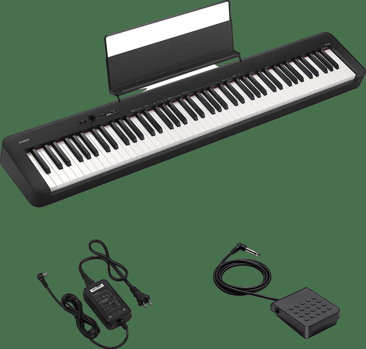Schwarz Casio CDP-S100 Digital Piano.3