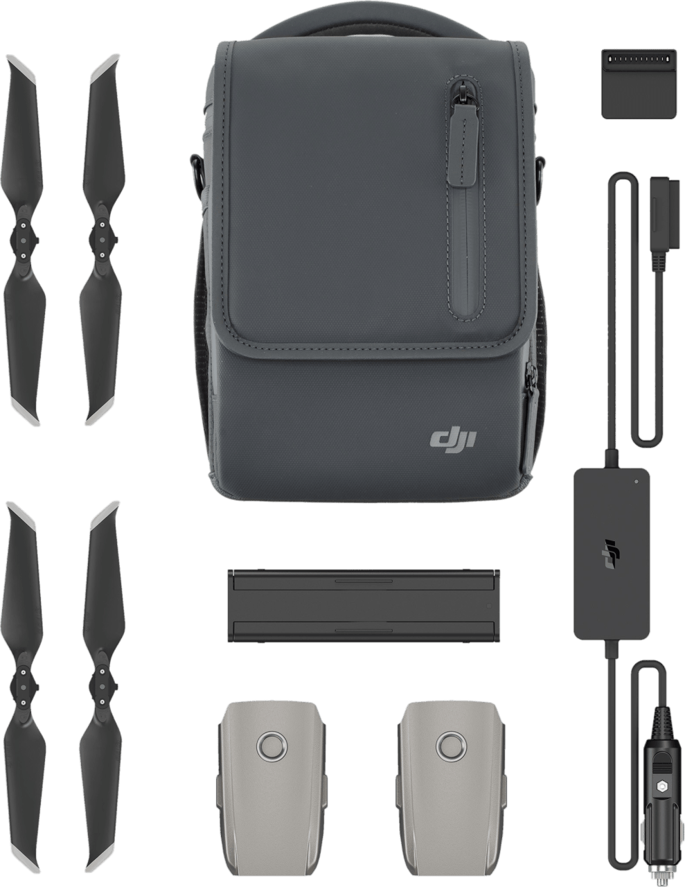 Grey DJI Fly More Kit Accessories for Mavic 2 .1