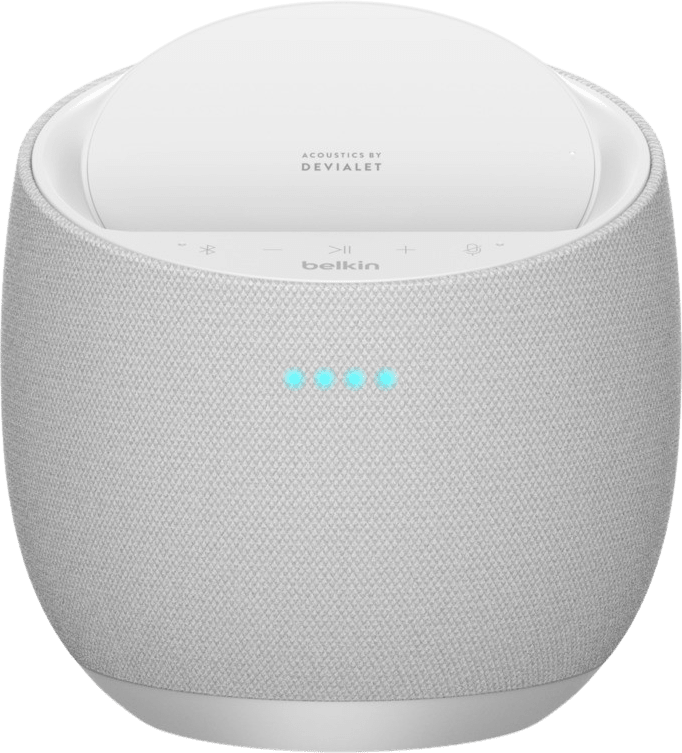 White Belkin Soundform Elite Hi-Fi Smart Speaker (Alexa & AirPlay2) Smart Speaker.3