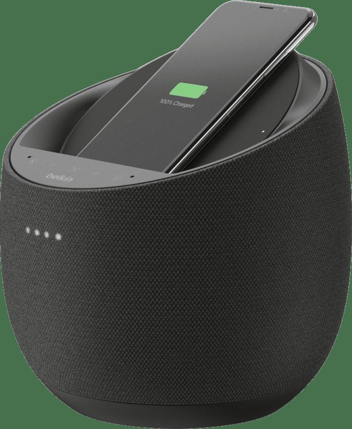 Black Belkin Soundform Elite Hi-Fi Smart Speaker (Alexa & AirPlay2) Smart Speaker.1