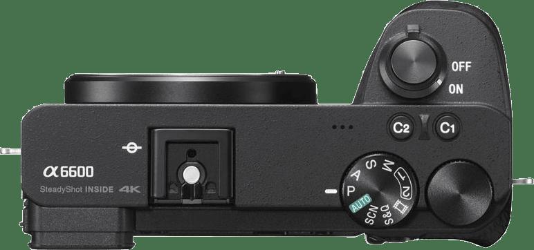 Schwarz Sony ALPHA 6600 Body.5