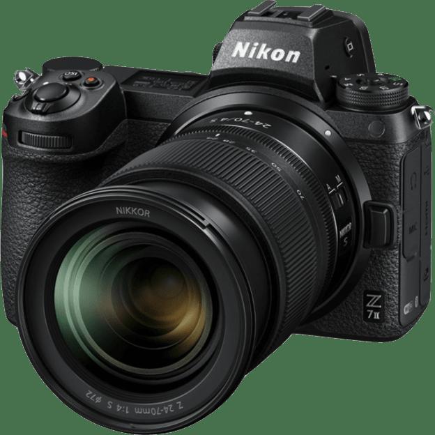Negro Nikon Z7 II + 24 - 70mm Kit de cámara y lente.1