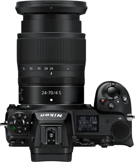Negro Nikon Z7 II + 24 - 70mm Kit de cámara y lente.4