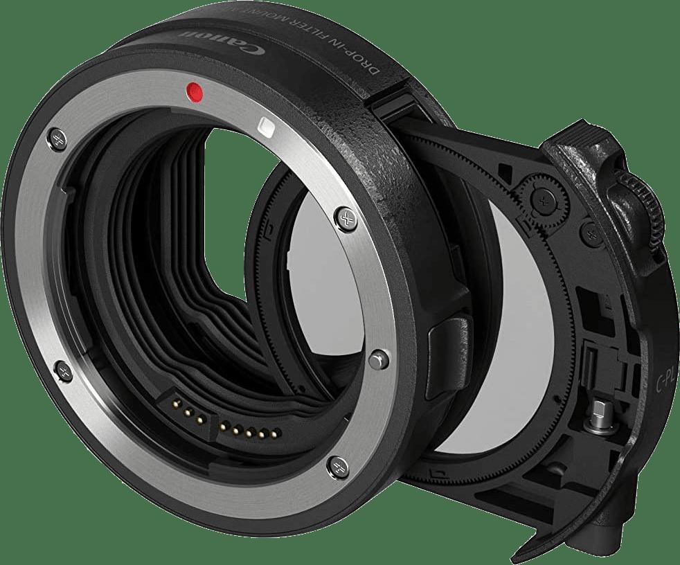 Zwart Canon Bayonet adapter EF - EOS R.1
