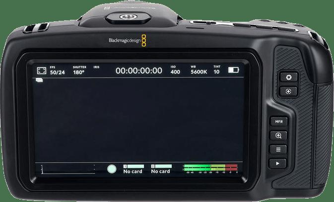Black Blackmagic Pocket Cinema 6K.3