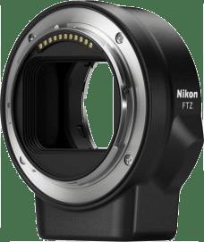 Black Nikon FTZ bayonet adapter.1