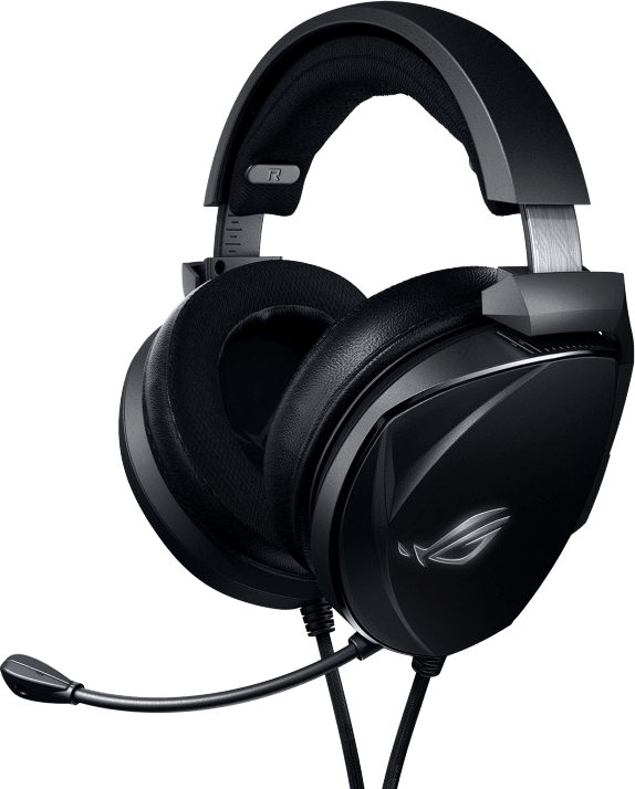 Black Asus ROG Theta Electret Over-ear Gaming Headphones.1