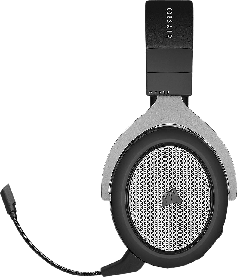 Schwarz / Silber Corsair HS75 XB Drahtloser Over-Ear Gaming-Kopfhörer.2