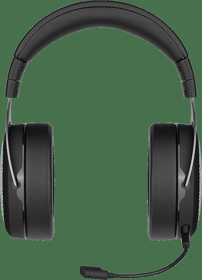 Schwarz / Silber Corsair HS75 XB Drahtloser Over-Ear Gaming-Kopfhörer.3