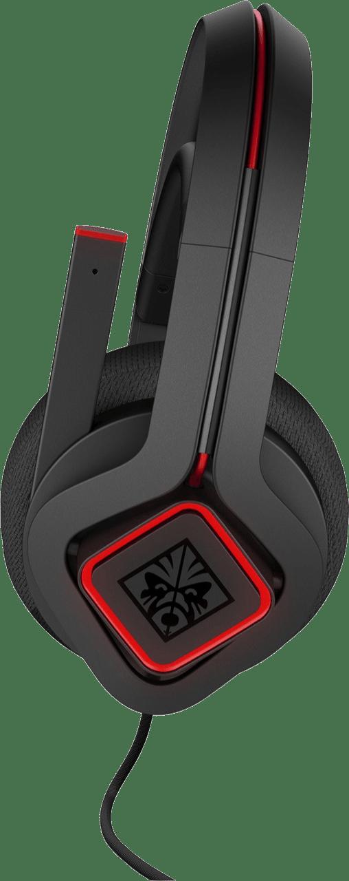 Black HP Omen Mindframe 2 Over-ear Gaming Headphones.4