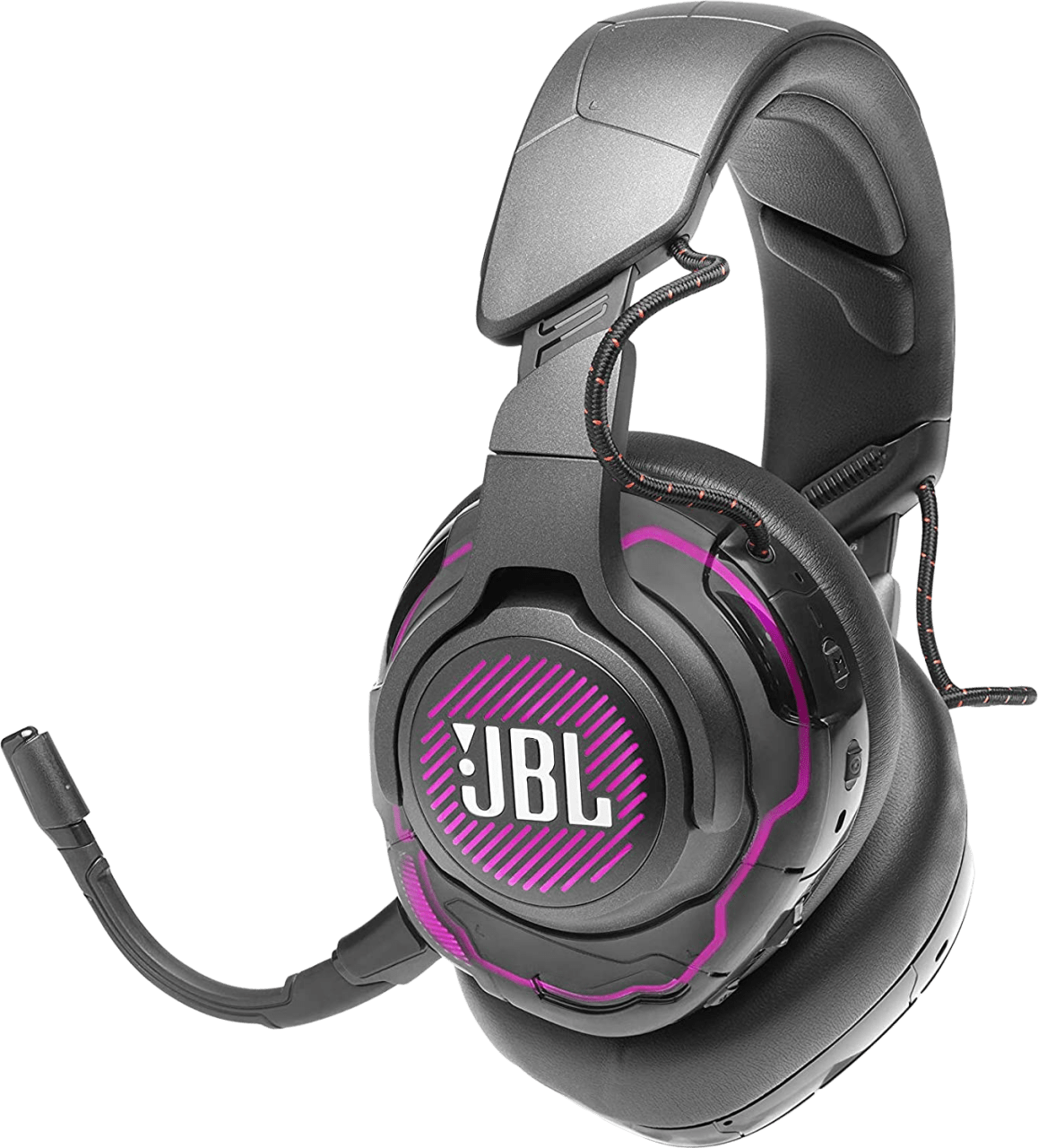 Black JBL Quantum One Over-ear Gaming Headphones.1