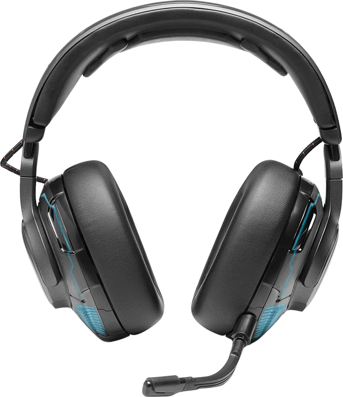 Black JBL Quantum One Over-ear Gaming Headphones.2