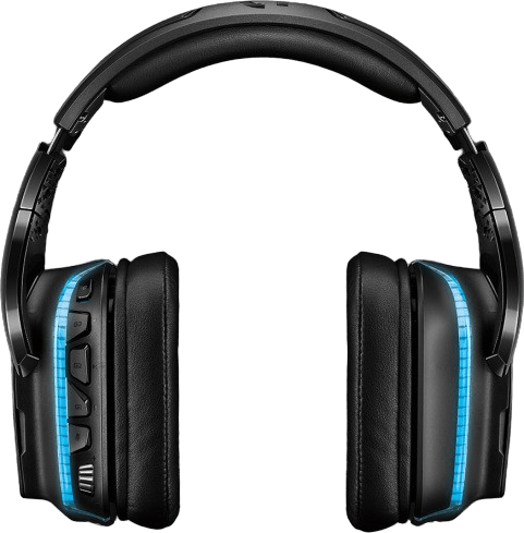 Black Logitech G935 Over-ear Gaming Headphones.3
