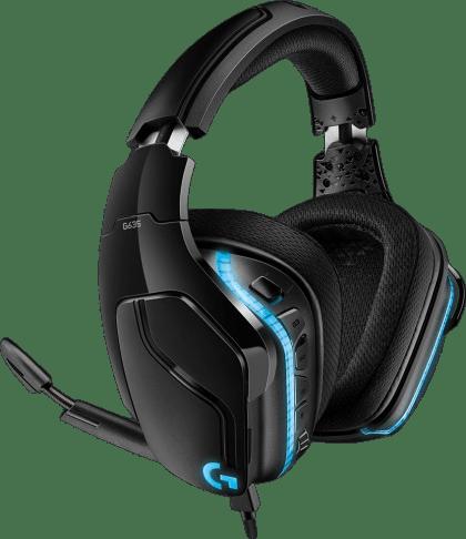Schwarz Logitech G635 Over-Ear Gaming-Kopfhörer.2