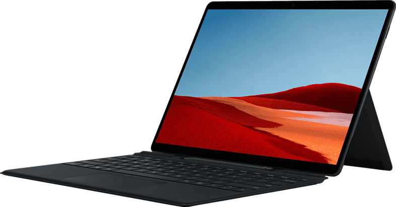 "Schwarz Microsoft Surface Pro X 13"" - Convertible - Microsoft SQ2 - 16GB - 512GB mit Signature Keyboard und Slim Pen (Bundle).1"