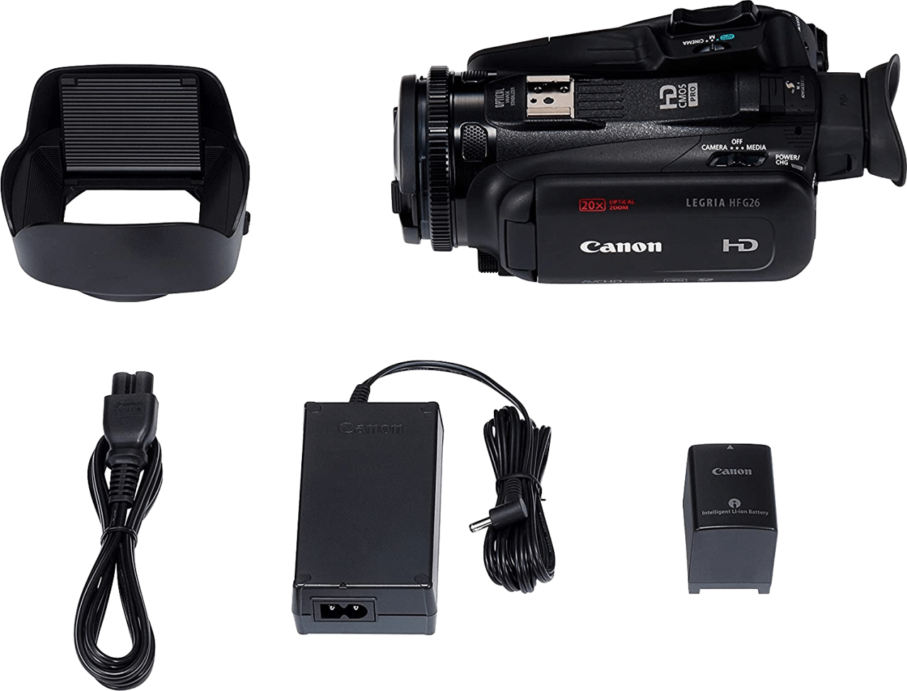Black Canon Legria HF G60 4K Camcorder.5