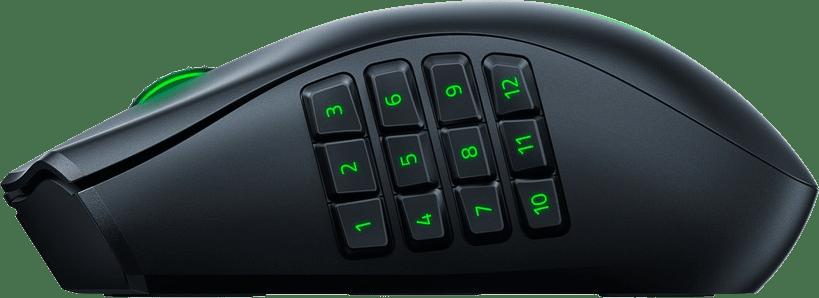 Schwarz Razer Naga Pro Mouse.2