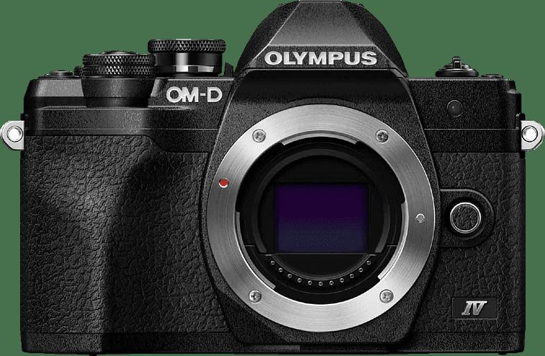 Schwarz Olympus OM-D E-M 10 Mark IV Body System Kamera.1