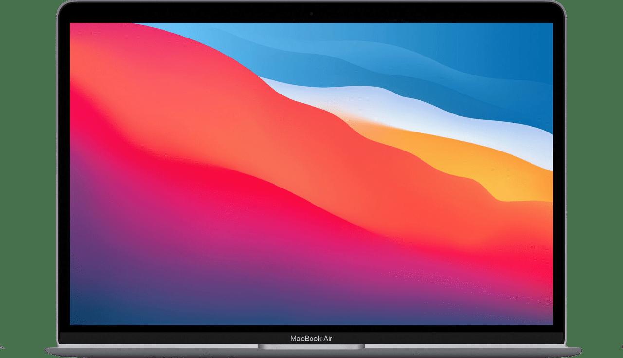 Space Grau Apple MacBook Air (Late 2020) - English (QWERTY) Notebook - Apple M1 - 16GB - 256GB SSD - Apple Integrated 7-core GPU.1