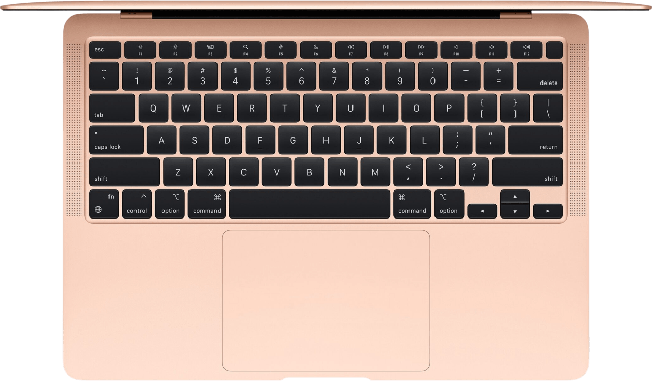 Gold Apple MacBook Air (Late 2020) - English (QWERTY) Notebook - Apple M1 - 8GB - 512GB SSD - Apple Integrated 8-core GPU.2