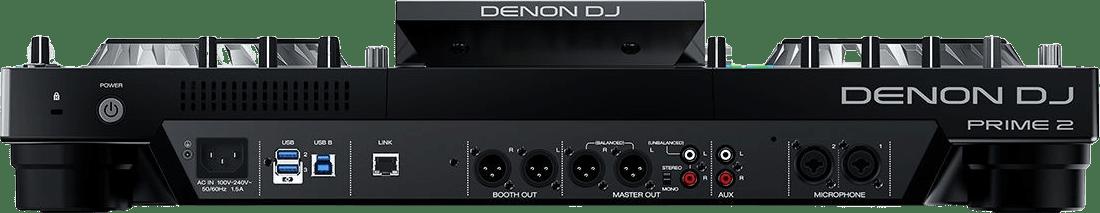 Schwarz Denon DJ Prime 2 All-in-One-DJ-Controller.4