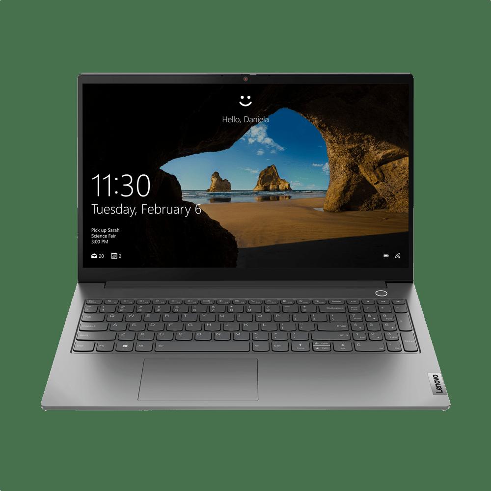 Mineral Grey Lenovo ThinkBook 15 G2 Laptop - Intel® Core™ i7-1165G7 - 16GB - 512GB SSD - Intel® Iris® Xe Graphics.1
