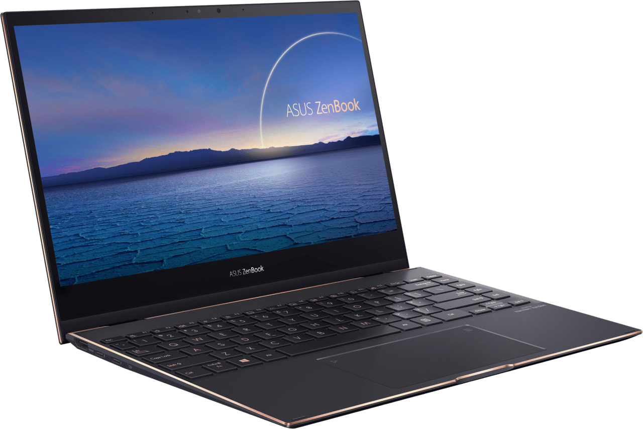 Schwarz Asus ZenBook Flip 13 UX371EA-HL003R 2in1 - Intel® Core™ i7-1165G7 - 16GB - 1TB SSD - Intel® Iris® Xe Graphics.4