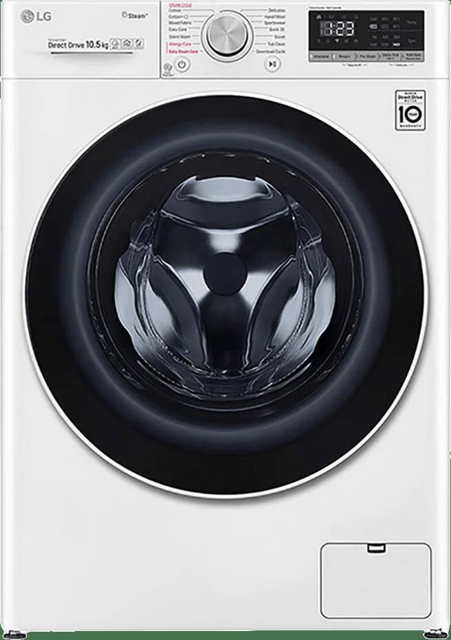 White LG Washing Machine F4WV510S0E.1