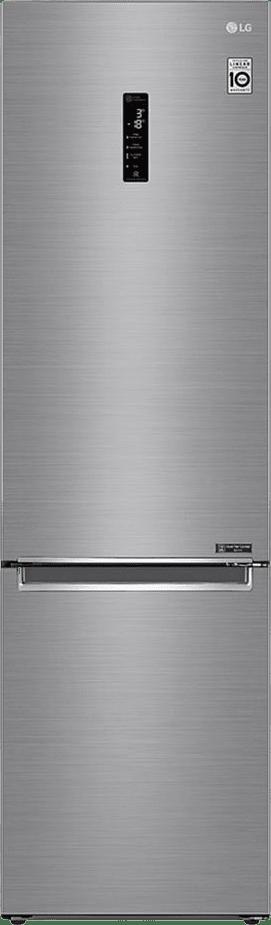 Steel LG Fridge Freezer Combo GBB62PZFFN.1