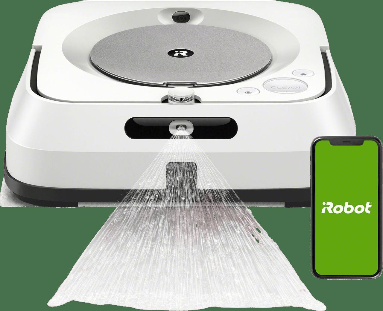 White iRobot Braava jet m6 Mopping Robot.1