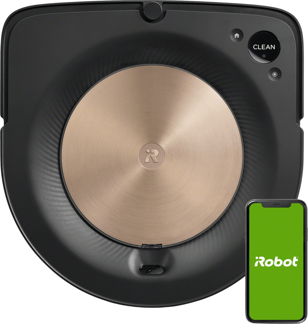 Schwarz iRobot Roomba s9 Saugroboter.1
