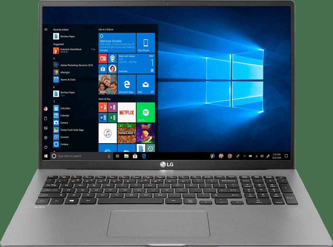 Dark Silver LG gram 17 Business Edition Laptop - Intel® Core™ i7-1065G7 - 16GB - 1TB SSD - Intel® Iris® Plus Graphics.1